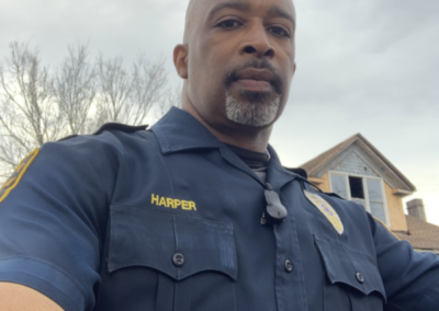 Lane Harper a Police Officer