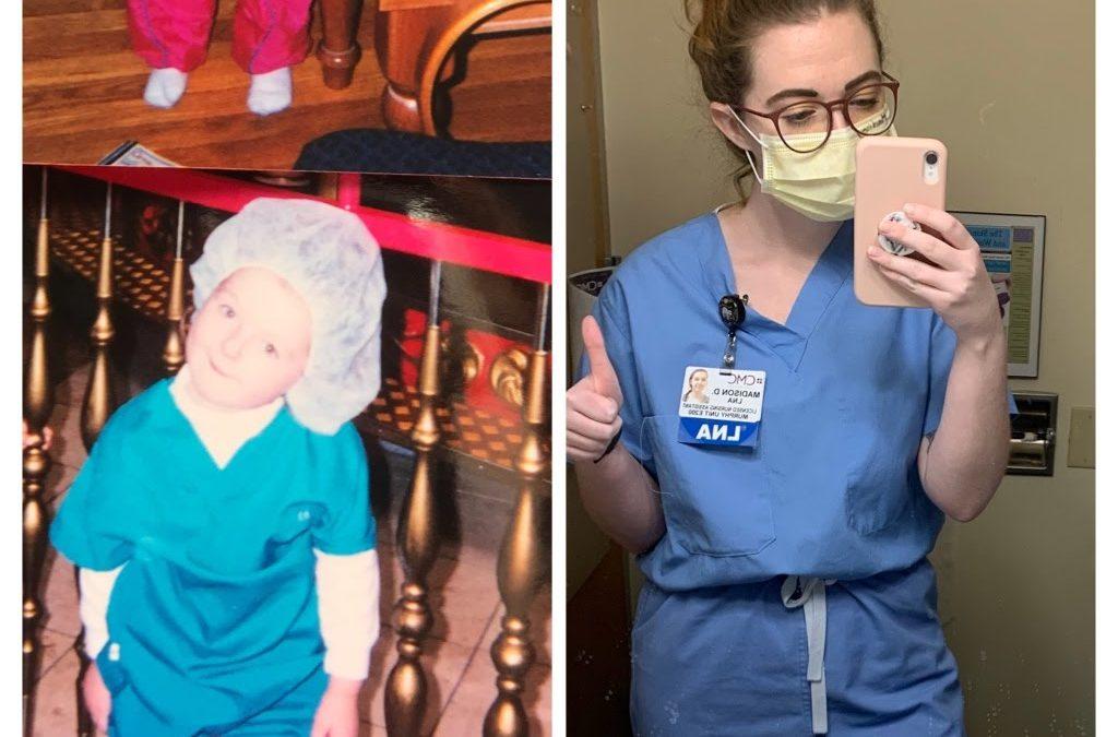 Madison Degust  a Registered Nurse